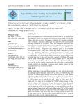Tạp chí khoa học: Sử dụng rong bún (Enteromorpha sp) làm thức ăn cho cá nâu (Scatophagus Argus) nuôi trong ao đất