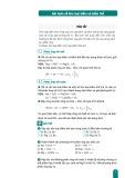Bài toán về kim loại kiềm và kiềm thổ