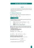 Bài toán về phản ứng của ancol