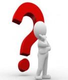 Câu hỏi trắc nghiệm Phân tích kinh doanh