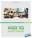 Ebook Tiêu chuẩn nghề Du lịch Việt Nam – Phục vụ nhà hàng: Phần 2