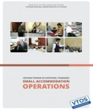 Ebook Vietnam tourism occupational standards – Small accommodation operations: Part 1