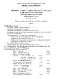 Đề thi tốt nghiệp cao đẳng nghề khóa 5 (2012-2015) - Nghề: Kế toán doanh nghiệp - Môn thi: Thực hành kế toán - Mã đề thi: KTDN-TH37