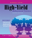 Ebook High-Yield behavioral science (4th edition): Part 2