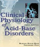 Ebook Clinical physiology of acid - base and electrolyte disorders (5th edition): Part 1