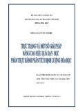 Khóa luận tốt nghiệp Hóa học: Thực trạng và một số giải pháp nâng cao hiệu quả dạy - học phần Thực hành phân tích định lượng Hóa học