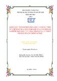 Khóa luận tốt nghiệp Hóa học: Khảo sát thành phần hóa học và hoạt tính ức chế enzym α glucosidase của cao hexan lá bình bát dây coccinia grandis (l.) j. voigt họ bầu bí (cucurbitaceae)