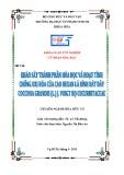 Khóa luận tốt nghiệp Hóa học: Khảo sát thành phần hóa học và hoạt tính chống oxi hóa của cao Henxan lá bình bát dây Coccinia Grandis (L.)J.voigt họ Cucurbirtaceae