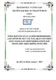 Khóa luận tốt nghiệp Hóa hữu cơ: Tổng hợp dẫn xuất 3,4-dihydropirimidin-2(1h)-on dùng xúc tác FeCl3.6H2O tẩm trên chất mang rắn montmorillonite KSF trong điều kiện không dung môi