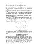 Cảm nhận về bài thơ Nhàn của Nguyễn Bỉnh Khiêm