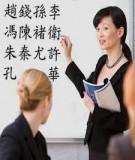Các cặp từ phản nghĩa trong tiếng Trung
