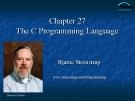 Lecture Programming principles and practice using C++: Chapter 27 - Bjarne Stroustrup