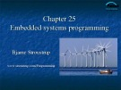 Lecture Programming principles and practice using C++: Chapter 25 - Bjarne Stroustrup