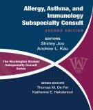 Ebook The Washington Manual allergy, asthma and immunology (2nd edition): Part 2