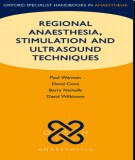 Regional anaesthesia, stimulation, and ultrasound (edition): Part 1
