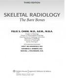 Skeletal radiology the bare bones (3rd edition): Part 1