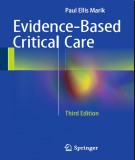 Ebook Evidence-based critical care (3rd edition): Part 1
