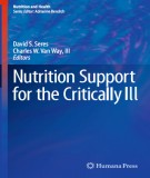 Ebook Nutrition support for the critically ill: Part 1