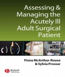 Ebook Assessing and managing the acutely ill adult surgical patient: Part 1
