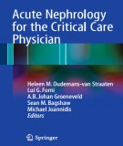 Acute nephrology for the critical care physician (edition): Part 1