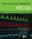 Ebook Intensive care medicine MCQs - Multiple choice questions with explanatory answers: Part 1