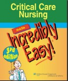 Ebook Critical care nursing made incredibly easy (3rd edition): Part 1