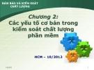 Bài giảng Đảm bảo và kiểm soát chất lượng phần mềm: Chương 2 - Nguyễn Mạnh Tuấn
