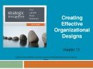 Lecture Strategic management (7/e): Chapter 10 - Dess, Lumpkin, Eisner, McNamara