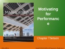 Lecture Management: Leading and collaborating in a competitive world (10/e) – Chapter 13