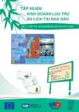 Tài liệu Tập huấn Kinh doanh lưu trú du lịch tại nhà dân (Tài liệu dùng cho giảng viên) – Bài 7