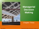 Lecture Management: Leading and collaborating in a competitive world (10/e) – Chapter 3