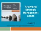 Lecture Strategic management (7/e): Chapter 13 - Dess, Lumpkin, Eisner, McNamara