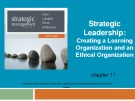 Lecture Strategic management (7/e): Chapter 11 - Dess, Lumpkin, Eisner, McNamara