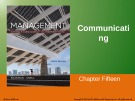 Lecture Management: Leading and collaborating in a competitive world (10/e) – Chapter 15