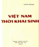 Ebook Việt Nam thời khai sinh: Phần 2