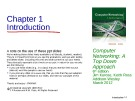 Lecture Computer networking: A top-down approach (6/e): Chapter 1 - James F. Kurose, Keith W. Ross