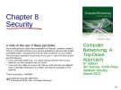 Lecture Computer networking: A top-down approach (6/e): Chapter 8 - James F. Kurose, Keith W. Ross