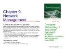 Lecture Computer networking: A top-down approach (6/e): Chapter 9 - James F. Kurose, Keith W. Ross