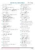 100 hệ phương trình