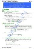 Tài liệu bài giảng Bài 1: Điện tích, định luật Cu-lông - Đỗ Ngọc Hà, Phạm Văn Tùng