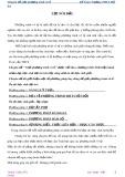 Chuyên đề Giải phương trình vô tỉ