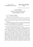 Bài thu hoạch Học tập, quán triệt, triển khai thực hiện Nghị quyết Đại hội TW Đảng lần thứ XII của Đảng
