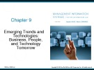 Lecture Management information systems for the information age (9/e): Chapter 9 - Stephen Haag, Maeve Cummings
