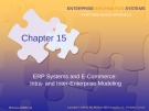 Lecture Enterprise information systems: A pattern-based approach (3/e): Chapter 15 - Cheryl Dunn, J. Owen Cherrington, Anita Hollander