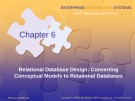 Lecture Enterprise information systems: A pattern-based approach (3/e): Chapter 6 - Cheryl Dunn, J. Owen Cherrington, Anita Hollander