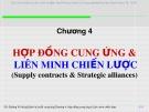 Bài giảng Quản lý chuỗi cung ứng (Supply Chain Management): Chương 4 - Đường  Võ  Hùng