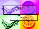 Đề kiểm tra Tiếng Anh Lớp 2