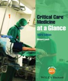 Ebook Critical care medicine at a glance: Part 2