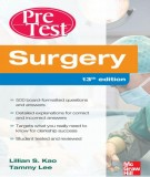 Ebook Surgery pretest self assessment and review (13th edition): Part 1