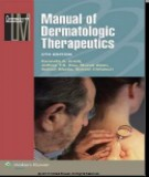 manual of dermatologic therapeutics (8th edition): part 2